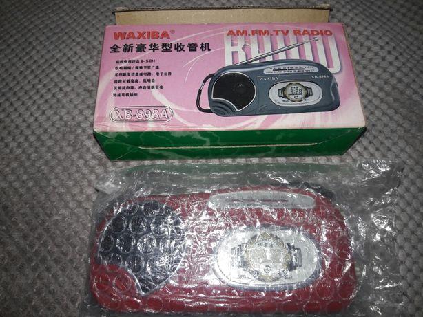 Радио карманное радиоприемник Waxiba XB-898A для отдыха и туризма