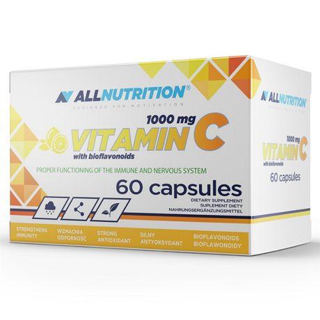 WITAMINA C 1000mg ALLNUTRITION Vitamin C Bioflavonoids Odporność