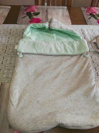 Śpiworek do nosidełka wózka dla noworodka