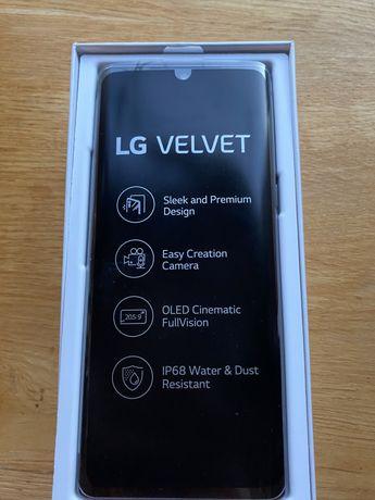 Smartfon LG Velvet 5G Szary