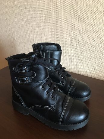 Ботинки шкіряні 27 р, 250 гр