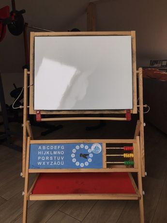 Tablica edukacyjna dla dzieci-drewniana