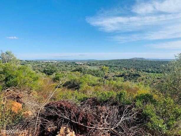 Terreno rústico com 17 hectares situado entre Alte e Benafim