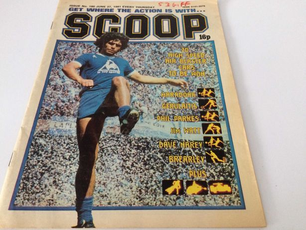 Komiks j.angielski  1981 SCOOP