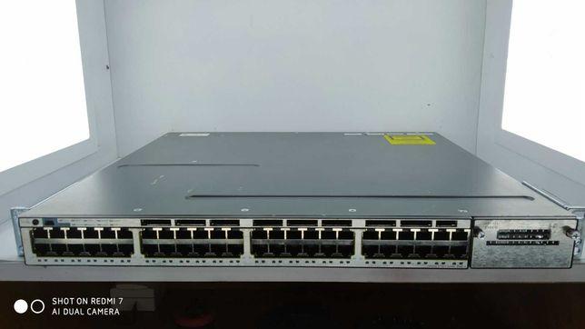 Коммутатор Cisco Catalyst C3750X (WS-C3750X-48T-S)