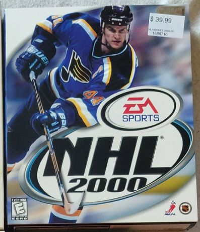 NHL 2000 PC Big Box
