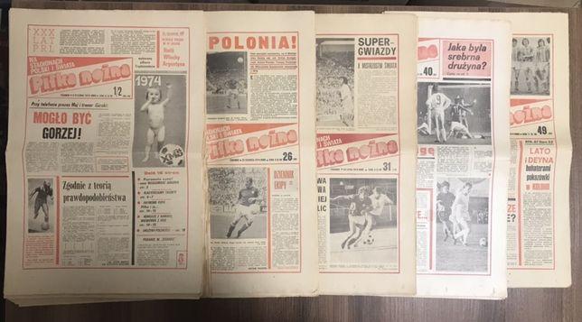 Tygodnik Piłka Nożna rocznik 1974 komplet