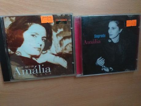 Cd's de música de Amália Rodrigues
