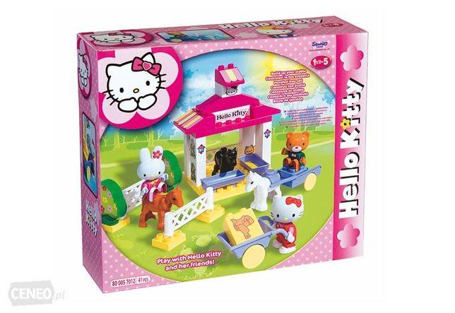 Klocki BIG Hello Kitty Stajnia