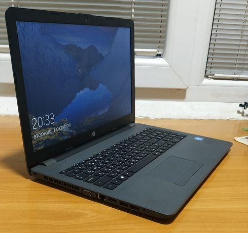 HP новый ноутбук с документами и упаковкой