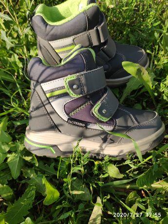 Ботинки зимние B&G, термоботинки 17.6 см 28 р.(на шерсти)