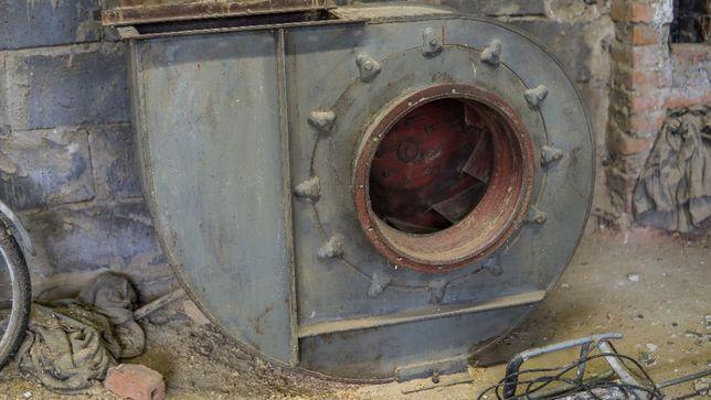 Wyciąg odciąg wentylator trocin brak silnika