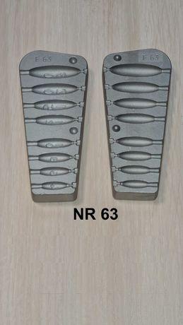 Forma wędkarska - ciężarki do bocznego troka  4/6/8/10/12/15/20/30 gr.