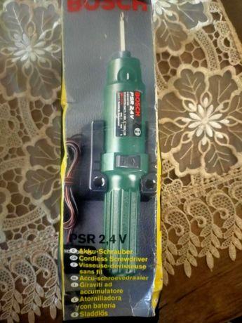 Bosch PSR 2,4V cordless screwdriver