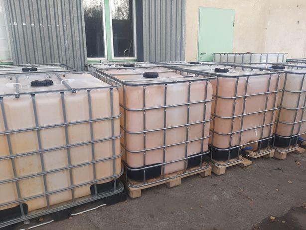 Pojemnik 1000 litrów Mauzer na wodę budowlaną szamba itp.