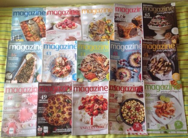 Revistas de culinária - Magazine - Continente