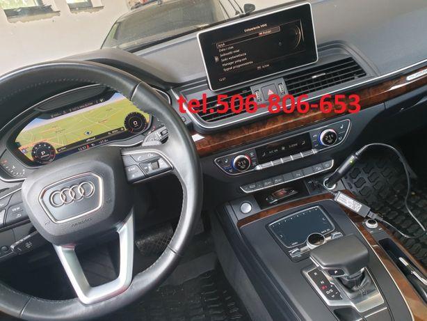 Audi A3 8v A4 8w A5 A6 A7 Q5 Q7 MIB MIB2 zmiana USA - EU PL 2020