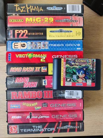 Sega Genesis/Mega Drive Оригинальные картриджи