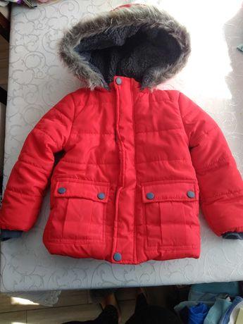 Super ciepła kurtka zimowa dla chłopca