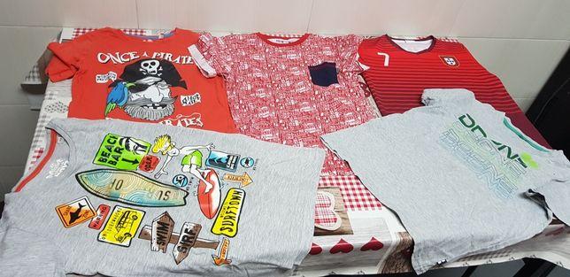 T-shirts para rapaz 8 anos