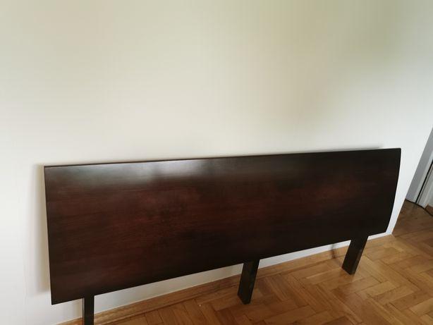 Łóżko Klose Lanao 180 x 200 drewniane stoliki nocne sypialnia meble