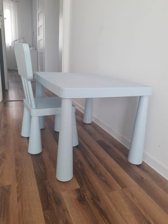 Stolik krzesełko Ikea mammut