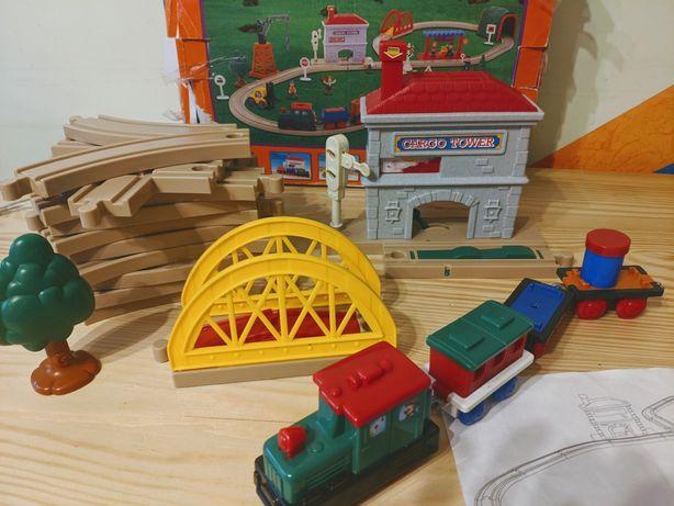 Залізниця пластик железная дорога