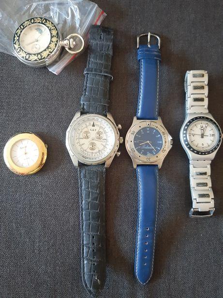 Relógios switch Renoir ballantines corda pilha japan swiss pulso bolso
