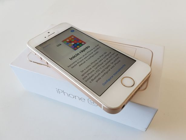 Apple iPhone SE Gold Como Novo