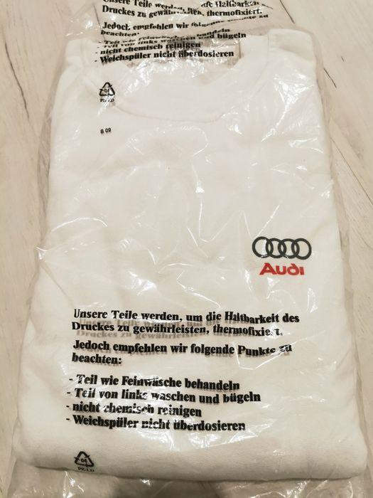 Bluza biała audi L Zgierz - image 1