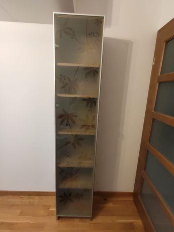 Regał Billy IKEA, 40 cm, witryna dąb