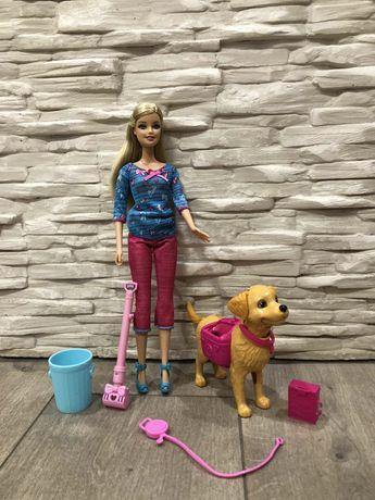 Барби с собачкой