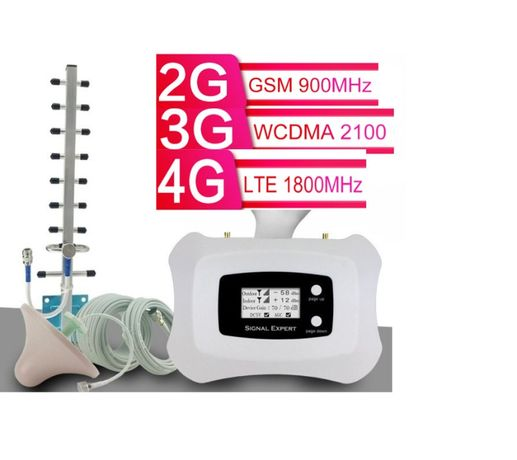 усилитель мобильной сотовой связи GSM, 2G, 3G, 4G підсилювач, репитер