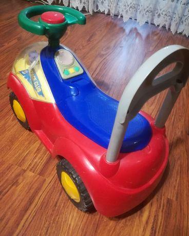 Машинки-каталки. Детская каталка-толокар LBL с музыкой.