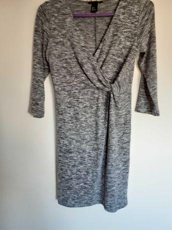 Sukienka ciążowa H&M Mama rozmiar M 38 szara