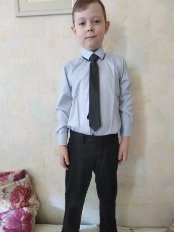 Школьные рубашки 128-135 (1-2 класс)