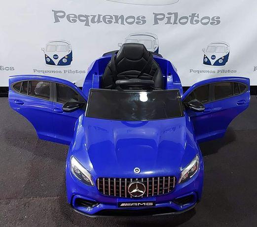 Mercedes GLC Coupe electrico para crianças 12v em Azul
