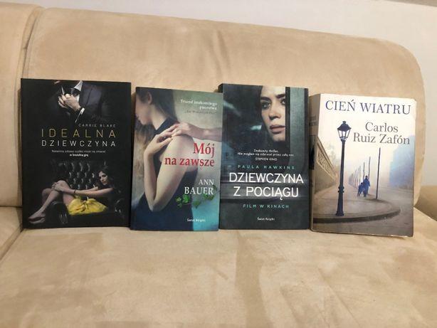 4 książki różnych autorów