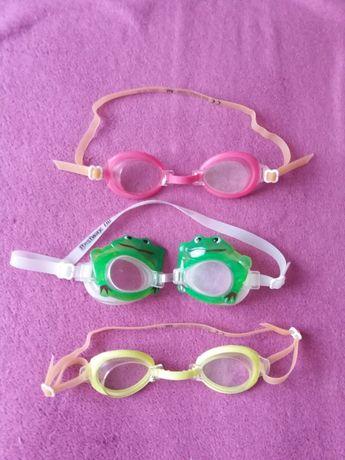 Очки  для купания подводные детские