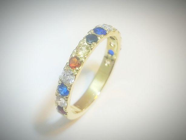 Złota obrączka dla najmłodszych pierścionek.