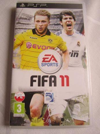 gra PSP Fifa 11