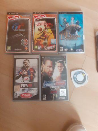 Jogos PSP como novos para desocupar