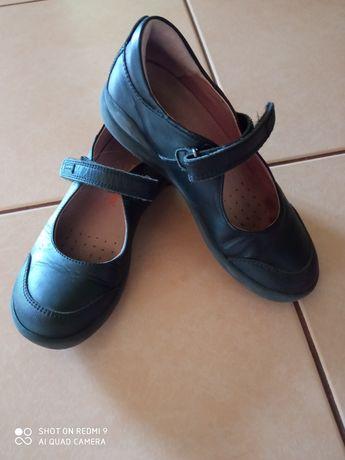 Туфельки кожаные для девочки
