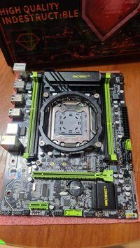 LGA 2011 MACHINIST X79USB3.0 SATA3 NVME M.2 SSD reg ecc (гарантия)