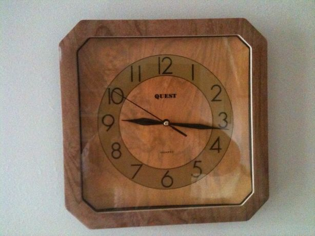 Relógio de parede, para usar onde quiser, usado,bom estado