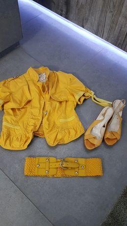 Zestaw damski  katanka, buty,pasek