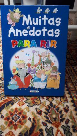 Livro muitas anedotas para rir