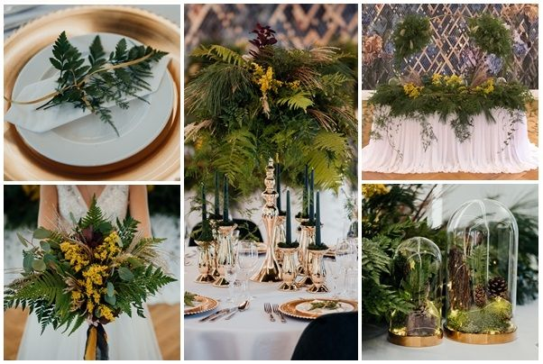 Dekoracje ślubne, florystyka, ciężki dym fontanny, napis Love i Miłość