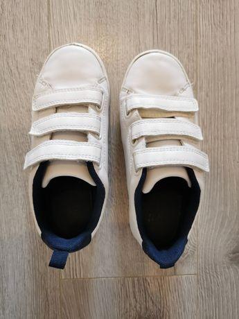 Buty białe h&m rozmiar 30 rzepy