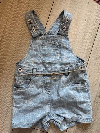 Комбенозы джинсовые на девочку 18 мес и 9-12 мес